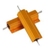 Toko Jual 2 Pc 1Ohm 100 W Watt Shell Power Aluminium Bertempat Case Resistor Lilit Kawat Baru Internasional