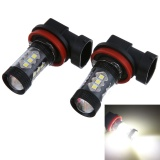 Jual 2 Pc 3030 80 W H8 H11 High Power Led Lampu Kabut Mobil Intl Lengkap