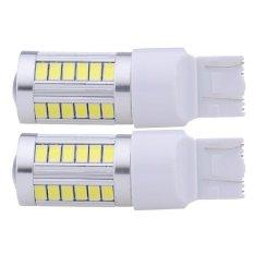 Jual 2 Buah 5 5630 33 Smd T20 7443 5630 Putih 800 Lumen Lampu Sinyal Rem Parkir Ekor Internasional Oem
