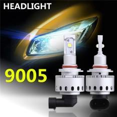 2 Pcs 12-24 V Mobil Bulbs 90 W 12000LM LED Headlight Kit Auto Lampu