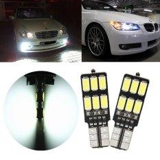 2 Pcs 3.2 W T10 5630 12 SMD 250MA 240lm 6000 K-6500 K Lampu