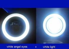 Beli 2 Buah 3 Inci Putih Proyektor Led Waterproof Lampu Kabut With Lensa Mata Cincin Lingkaran Malaikat Tongkol 30 Watt Xenon 12 V Lampu Kabut