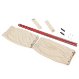 Toko 2 Pcs 70 Cm Mesh L Auto Rear Valance Uv Kerai Drape Visor Car Window Curtain Beige Lengkap Di Indonesia
