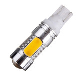 2Pcs Car Amber Yellow 5 Led Cob Smd 11W T10 W5W High Power Wedge Side Light Bulb Lamp Intl Oem Murah Di Hong Kong Sar Tiongkok