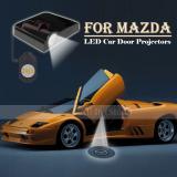 Beli 2 Buah Lampu Proyektor Pintu Mobil Selamat Datang Gambaran Mengenai Mazda Tidak Ada Stripes Merah Terisolasi Putih Yang Are Necessary Internasional Cicil