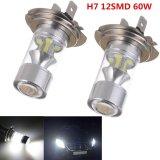 Miliki Segera 2 Pcs Mobil Lampu Kepala H7 12Smd 2323 Putih 60 W Fog Light Intl