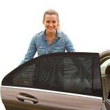 Jual 2 Pcs Mobil Pelindung Matahari Side Mesh Window Curtain Dapat Dilipat Visor Pelindung Matahari Uv Protection New Intl Oem Ori