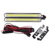 Jual 2 Pcs Daytime Running Light Cob 99 Led Drl Mobil Super Putih Kabut Mengemudi Bulb 12 W Intl Antik