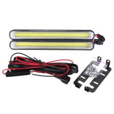 Situs Review 2 Pcs Daytime Running Light Cob 99 Led Drl Mobil Super Putih Kabut Mengemudi Bulb 12 W Intl