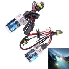 Toko 2 Pcs Dc12V 35 W H11 Hid Xenon Light Single Beam Super Vision Waterproof Head Lamp Suhu Warna 6000 K Lampu Putih Murah Di Tiongkok