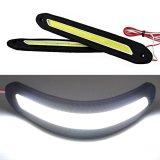 Beli 2 Buah Keping Tipis Fleksibel Membalik Tongkol Memimpin Drl Putih Mengemudi Siang Hari Lampu Berjalan Murah