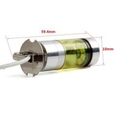 Jual 2 Pcs H3 100 W Fog Light Kuning 2323 Led Drl Lampu Proyektor Bulb 4300 K Baru Internasional Not Specified Asli
