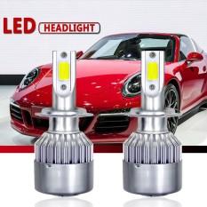 2 Pcs H7 Soket 60 W 1000LM 6000 K Bola Lampu Putih LED Lampu Depan Tinggi