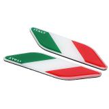 Spesifikasi 2 Pcs Bendera Italia Badge Emblem Stiker Decal Untuk Universal Mobil Bmw Benz Intl Bagus