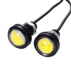 Perbandingan Harga 2Pcs Kuning Bohlam Besar 23Mm Lampu Led Luxion Mata Elang Mobil Motor Eagle Eye Drl Daytime Turn Signal Light Lampu Sein Di Dki Jakarta