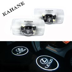 2 Pcs LED Car Door Light Laser Proyektor Logo Ghost Shadow Light untuk LEXUS ES250 ES300 IS300 IS350 RX270 RX350 GX400 LS470 Series-Intl
