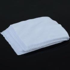 2 Pcs Kain Pembersih Microfiber untuk Kamera Ponsel Tablet Layar Kacamata Lensa-Intl