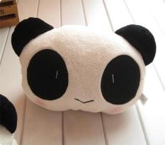 2 Pcs Panda Mobil MM X 80mm untuk Otomotif Mobil Mewah Bantal Leher Bantal Sandaran Kepala-Intl