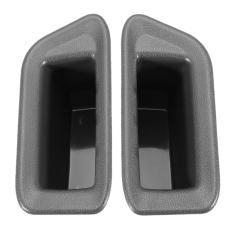 Harga 2 Pcs Set Pintu Menangani Kotak Penyimpanan Pintu Sandaran Tangan Kotak Sarung Armrest Box Dekorasi For Ford Ecosport Auto Untuk Pintu Depan Origin
