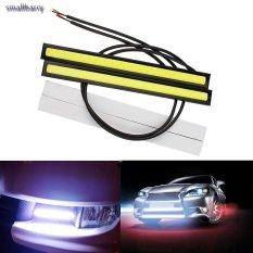 2 Pcs Ultra Bright LED Daytime Running Lampu DC 12 V 14 Cm Auto Mobil DRL COB Lampu Kabut Mengemudi -Intl