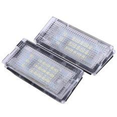 Jual 2 Pcs Putih 18 Led Lampu Plat Nomor Lampu Bulbs Untuk Bmw E46 4D 98 03 Intl Lengkap