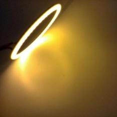 Harga 2 Pcs Putih 80Mm Cob Led Angel Eyes Headlight Halo Ring Warning Lamps With Cover Intl Oem Original