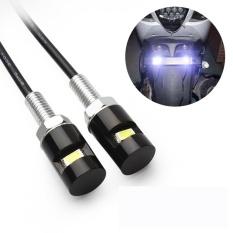 Jual 2 Pcs Putih Led Smd Motor Mobil Plat Sekrup Baut Lampu Cahaya Bulb 12 V Intl Termurah