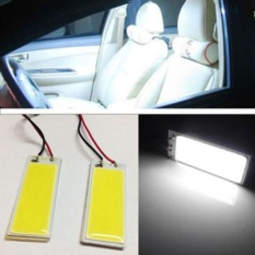 Jual 2 Pcs Xenon Hid Putih 36 Cob Led Dome Peta Light Bulb Lampu Panel Interior Mobil 12 V Intl Online
