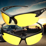 Review 2 Buah Kuning Lensa Night Vision Kacamata Hitam Kacamata Sport Kacamata Mengemudi Berkendara Uv400 Internasional Di Hong Kong Sar Tiongkok