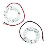 Toko 2 Pcs Set 40Mm Angel Eye Car Light 12Smd 1210 3528 Mobil Headlight Led Daytime Running Light Intl Lengkap Di Tiongkok