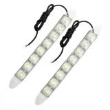 Toko 2 Pcs Set 8 Pcs Led Lampu Siang Hari Lampu Drl Fleksibel Mobil Style Allwin Internasional Terlengkap