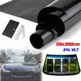 Harga 2Ply 20 X 10Ft 5 Vlt Hitam Mobil Home Glass Window Tint Pewarnaan Film Vinyl Roll Intl Fullset Murah