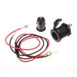 Jual Beli 2 V 60 Cm Kabel Mobil Motor Lighter Socket 2 Usb Charger Dki Jakarta