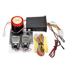 Promo 2Way Sistem Alarm Sepeda Motor Remote Control Mesin Mulai Keamanan Lcd Intl Indonesia
