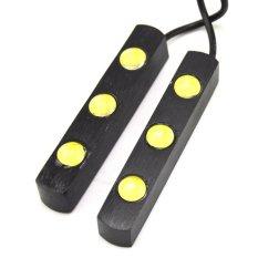 Spesifikasi 2 X 3 Lampu Led Mobil Parkir Siang Hari Mata Elang Putih Tinggi Daya Tahan Air 6 Watt Lampu Kabut Drl Lampu Mundur Murah Berkualitas