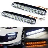 Harga 2X30 Led Car Daytime Running Light Drl Lampu Siang With Lampu Nyala Intl Branded