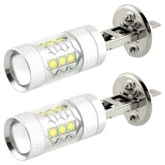 Harga 2 X H1 80 Watt Kabut Led Mengubah Drl Kepala Ekor Mobil Putih Lampu Cahaya Super Terang Seken