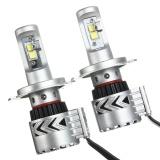 Jual 2X H4 9008 12000Lm Mobil Cree Led Xhp50 Bohlam Lampu Depan Light Kit Konversi Putih Intl Online