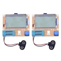 2X LCR-T4 ESR Meter Transistor Test Dioda Triode Kapasitansi SCR Induktansi (Orange)-Intl
