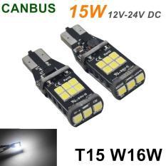 Spesifikasi 2X T5 W16W 15 Led 3535Smd Canbus Truck Light Putih Hemat Bola Lampu Tahan Lama Intl Bagus