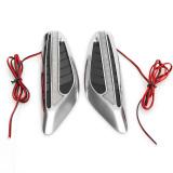 Jual 2 X Led Universal Blade Setir Mobil Lampu Samping Fender Lampu Kampanye Versus Sein Putih Oem Ori