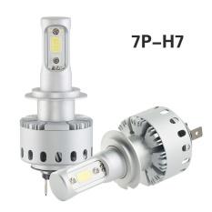 2X7 P H7 16000lm 80 W Putih Auto Mobil 6500 K LED Bulb Lampu Utama Fog Siang Lampu- INTL