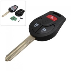 3 Tombol 315Hz Penggantian Remote Car Key Fob Transmitter Clicker Alarm dengan Kunci untuk Nissan CWTWB1U751-Intl