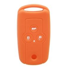 3 Tombol Silicone Flip Case Penutup Kunci Mobil Fob Cocok Untuk Acura MDX TL TSX ZDX