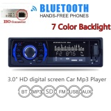 Harga 3 Inch 1 Din In Dash Bluetooth 7 Warna Light Car Stereo Fm Radio Mp3 Audio Player Aux Input Sd Usb Intl Seken