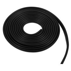 Toko 300Cm Moulding Trim Car Door Anti Scratch Protector Edge Guard Rubber Strips Black Intl Oem