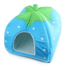 Beli 31 31 Cm Puppy Dog Kennel Pet Cat Bed Lipat Softwinterstrawberrycave Dog House Mat Supplies Hijau Nbsp Intl Murah Di Tiongkok