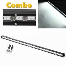 31 Inci 6300LM Mobil Sorotan Work LED Ringan Bar Lampu LED Truk Offroad Mengemudi Kendaraan Putih 6000 K 9- 32 V Anti-Air Kombo-Internasional
