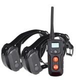 Jual 330 Yd Remote Rechargeable Waterproof Dog Training Shock Kerah With Nada Getaran Static Shock E Kerah For 2 Anjing Intl Oem Branded