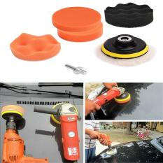 Ulasan Tentang 3 4 5In Car Polisher Pads Sponge Polishing Buffer Pad Set With M10 Drill Adapter And Sucker 7Pcs Diameter 80Mm Size 3